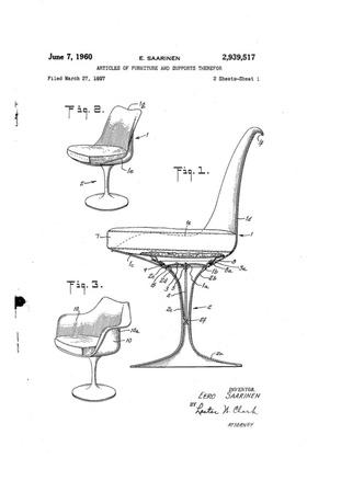 Культовый объект: стул Tulip Ээро Сааринена (фото 4.2)