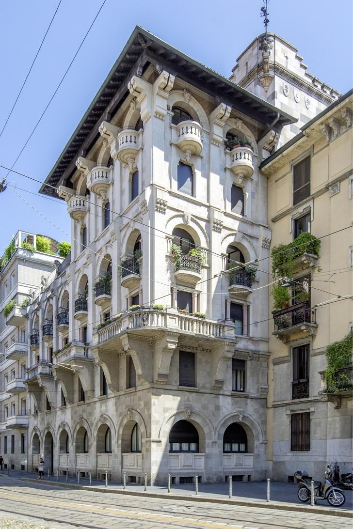 Стены помогают: проект Майка Шилова в Милане (фото 3)