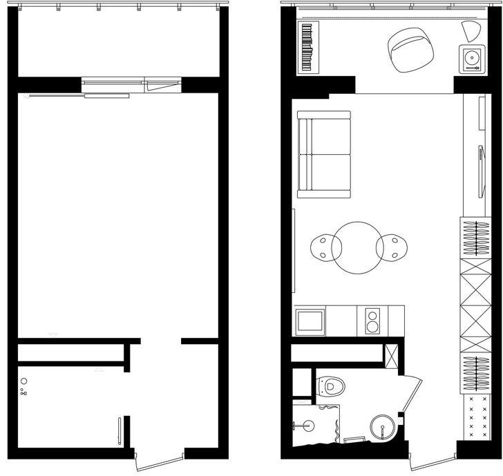 Первый план: все, что нужно знать о планировке маленьких квартир (фото 5)