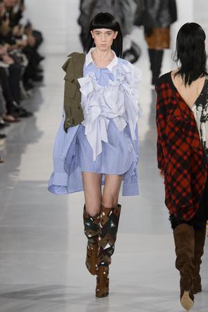Показы мод Maison Margiela Весна-лето  2016 | Подиум на ELLE - Подиум - фото 4476