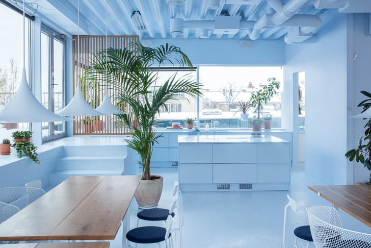 Офис в пастельных тонах по проекту Kvistad в Осло (фото 2)