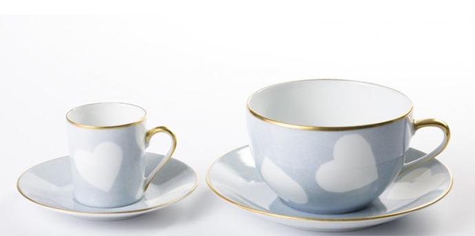 Чашка с блюдцем, Marie Daage
