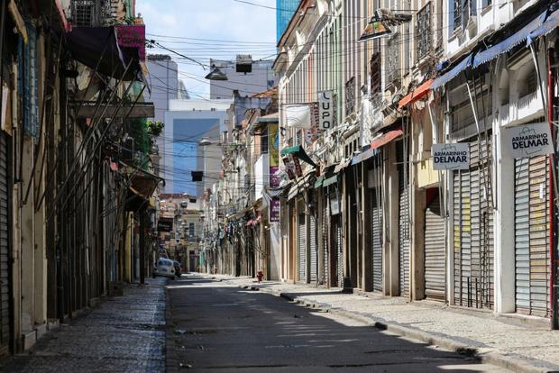 Как выглядит опустевший Рио-де-Жанейро (фото 7)