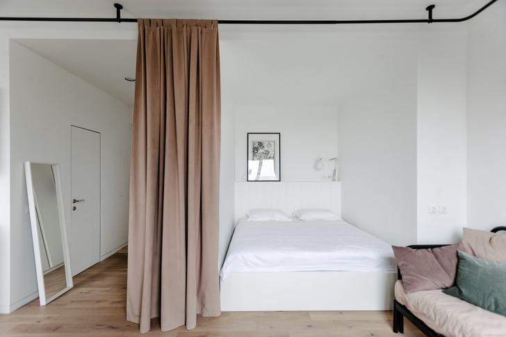 Квартира 33 м²: модный интерьер для молодой девушки от buro5 (фото 4)