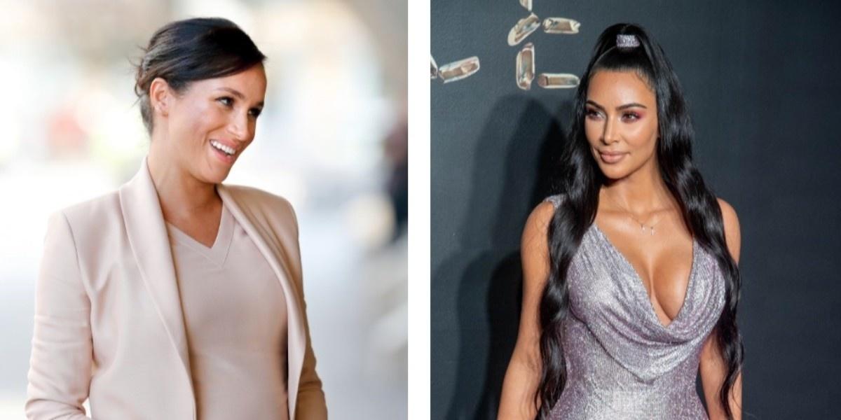 Красивое решение: что общего у Меган Маркл и Ким Кардашьян?