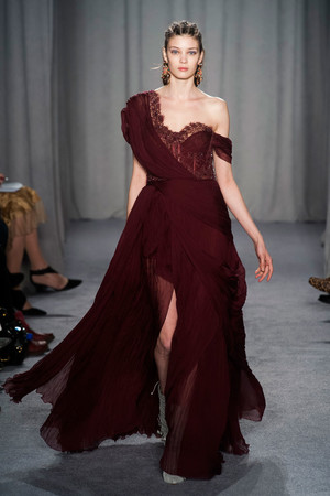 Показы мод Marchesa Осень-зима 2014-2015 | Подиум на ELLE - Подиум - фото 3867