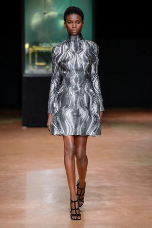 Показ Iris van Herpen коллекции сезона Осень-зима 2017-2018 года Haute couture - www.elle.ru - Подиум - фото 623886