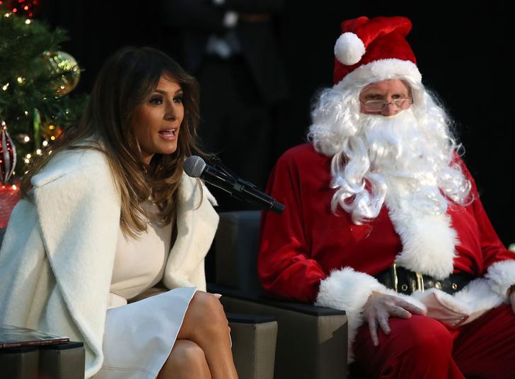 Как Мелания Трамп готовится к Рождеству (фото 2)