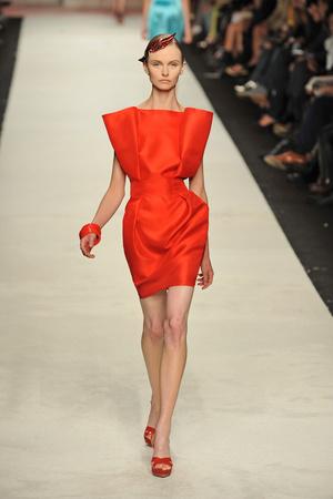 Показы мод Frankie Morello Весна-лето 2009 | Подиум на ELLE - Подиум - фото 3353