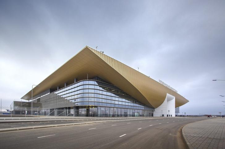 Новый символ Прикамья: терминал аэропорта Перми (фото 4)