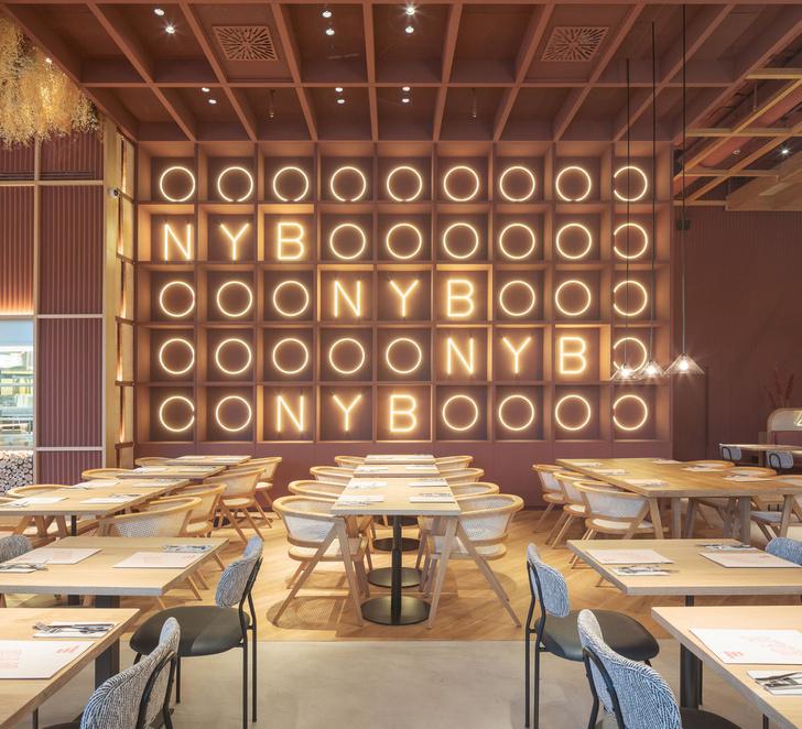 Уютный бургер-бар в Мадриде (фото 0)