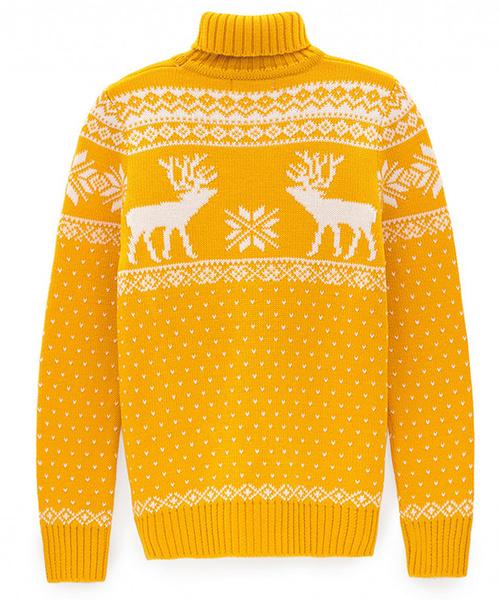 Скандинавские узоры: красивые зимние свитера   галерея [1] фото [2]