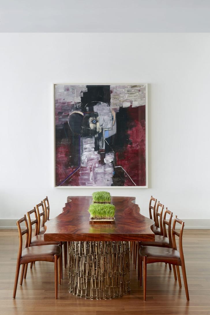 Лофт в Нью-Йорке с современным искусством (фото 10)