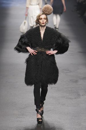 Показы мод Sonia Rykiel Осень-зима 2010-2011 | Подиум на ELLE - Подиум - фото 2714