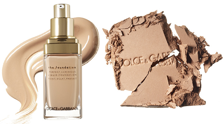 Тон Perfect Luminous Liquid Foundation, 80; Бронзер Glow Bronzing Powder, 20, Dolce & Gabbana