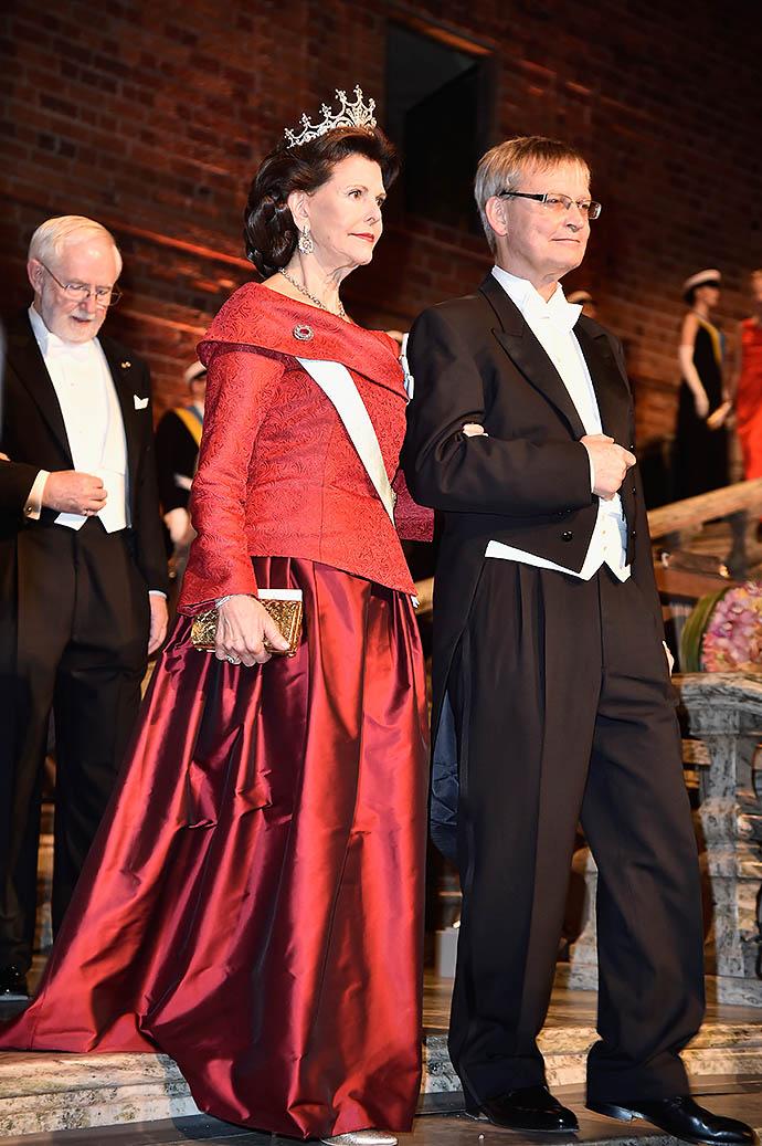 Королева Швеции Сильвия и шведский молекулярный биолог Карл-Генрих Хельдин