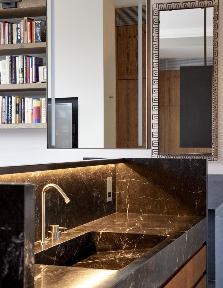 Лондонская квартира с деревянной лестницей от Deca Architecture (фото 9)