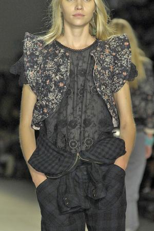 Показ Isabel Marant коллекции сезона Весна-лето 2009 года prêt-à-porter - www.elle.ru - Подиум - фото 85029