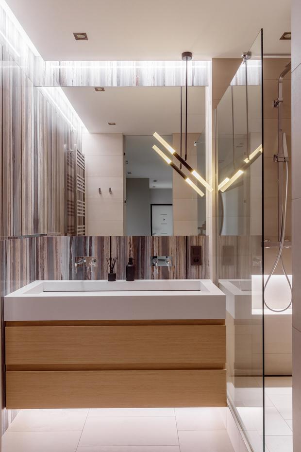 Минималистичная квартира 100 м² в Краснодаре (фото 16)