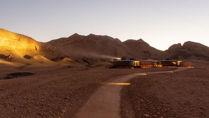 «Марсианский» парк в ОАЭ по проекту Hopkins Architects (фото 9)