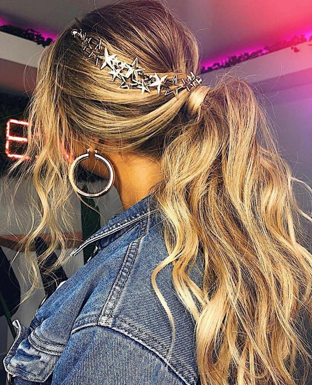 Микротренд: украшения для волос (фото 15)