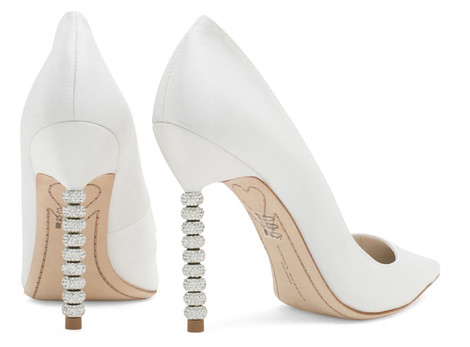 Известные дизайнеры создали свадебные модели обуви | галерея [1] фото [1]