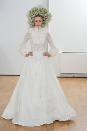 Показ Julien Fournie коллекции сезона Весна-лето 2014 года Haute couture - www.elle.ru - Подиум - фото 574972