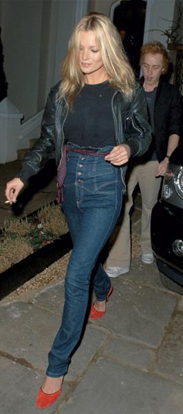 Кейт Мосс в Silver Jeans