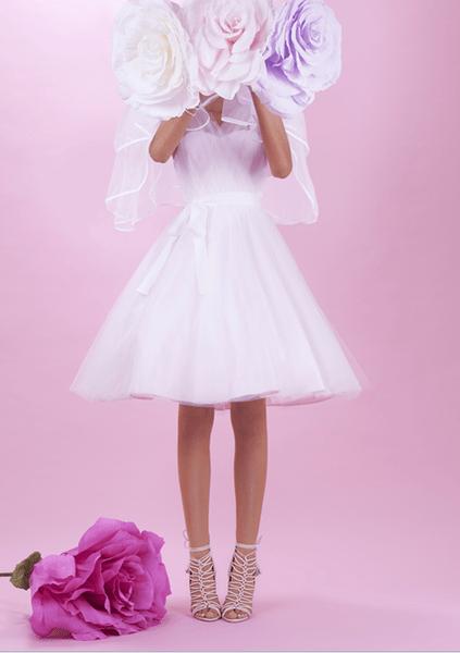 София Вебстер представила дебютную коллекцию свадебной обуви | галерея [1] фото [1]