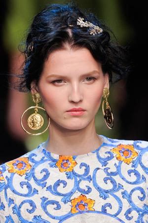 Показ Dolce & Gabbana коллекции сезона Весна-лето 2014 года prêt-à-porter - www.elle.ru - Подиум - фото 566309