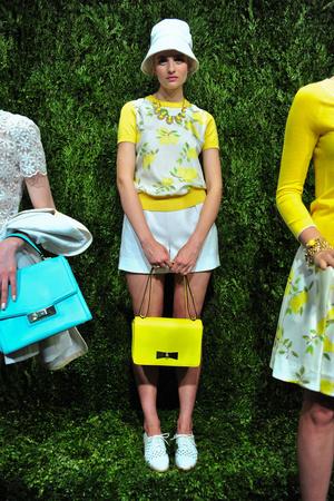 Показы мод Kate Spade Весна-лето 2014 | Подиум на ELLE - Подиум - фото 3537