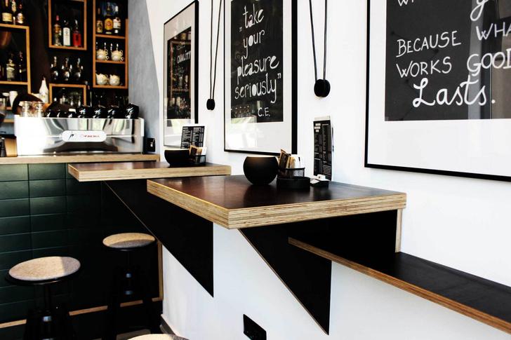 Джунгли и ч/б: модный бар в Ховатии (фото 10)