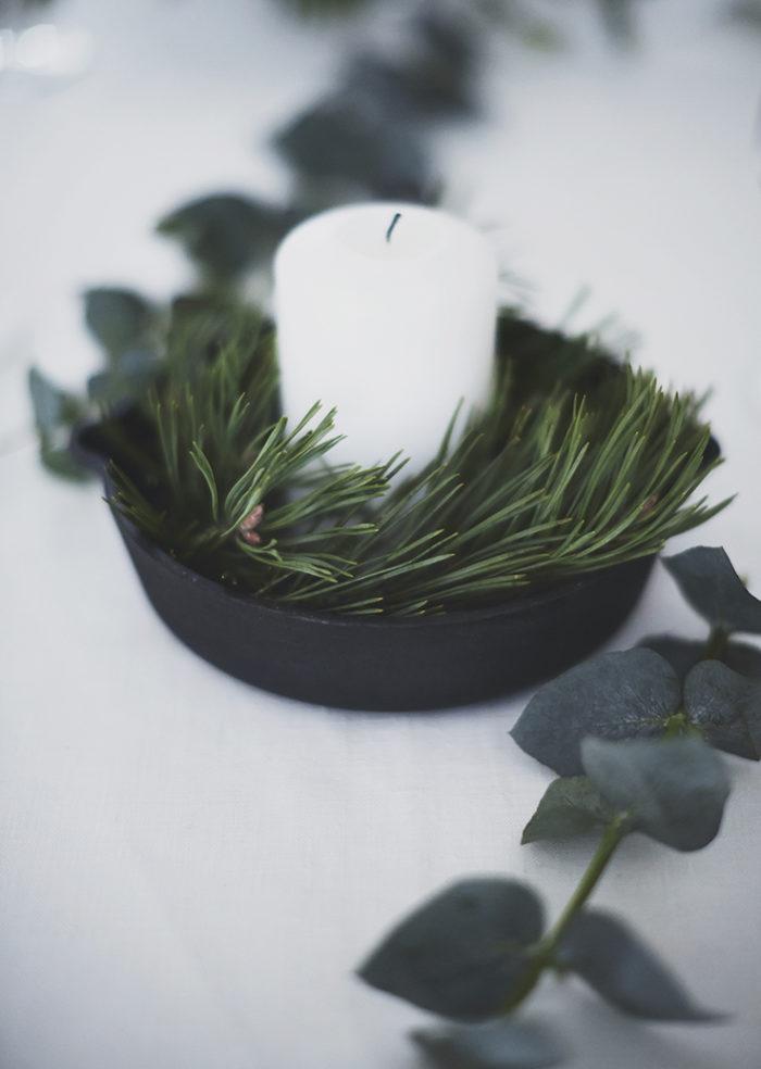 Чем заменить новгоднюю елку? Зеленый декор своими руками (фото 7)
