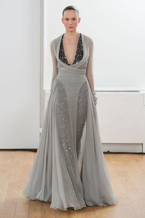 Показ Julien Fournie коллекции сезона Весна-лето 2014 года haute couture - www.elle.ru - Подиум - фото 574971