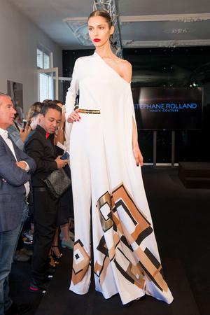 Показ Stephane Rolland коллекции сезона Осень-зима 2015-2016 года Haute couture - www.elle.ru - Подиум - фото 597496