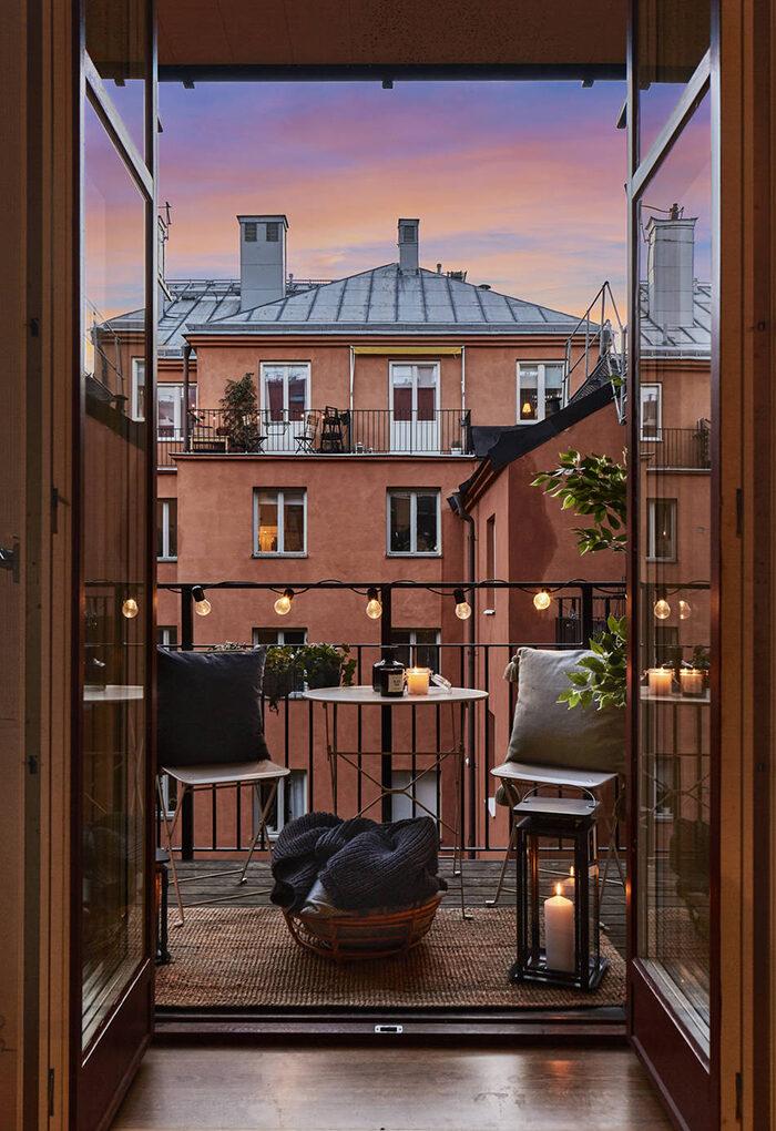 Балкон в скандинавском стиле: 7 советов (фото 28)