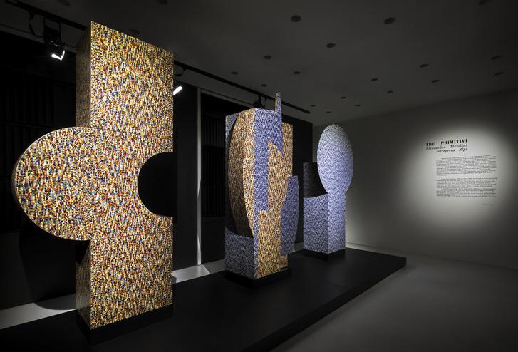 «Примитивы» Алессандро Мендини на выставке в Милане (фото 6)