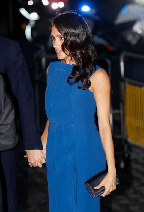 Меган Маркл в ослепительном синем платье Jason Wu (фото 2)