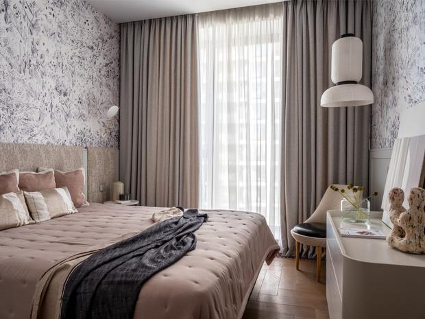Воздушные замки: светлая квартира в новом доме на Пресне (фото 10)