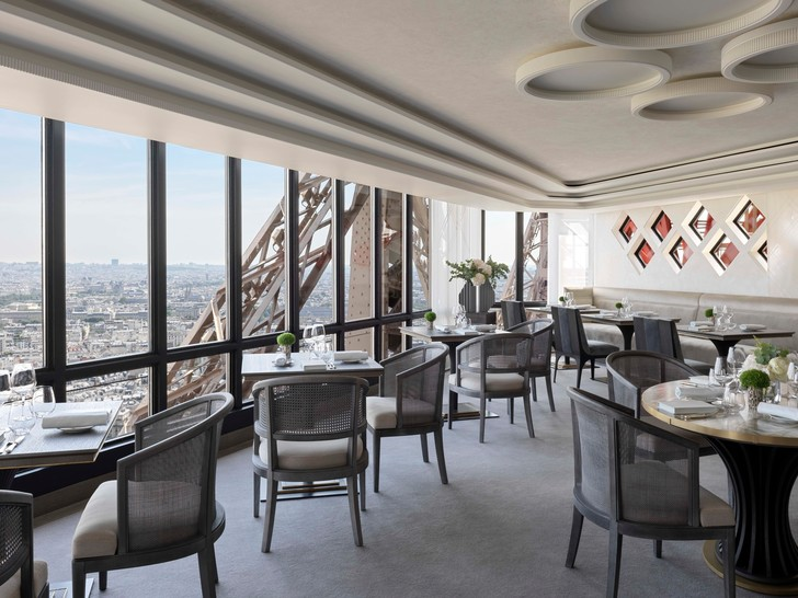 Возвращение легенды: ресторан  Le Jules Vernе на Эйфелевой башне (фото 10)