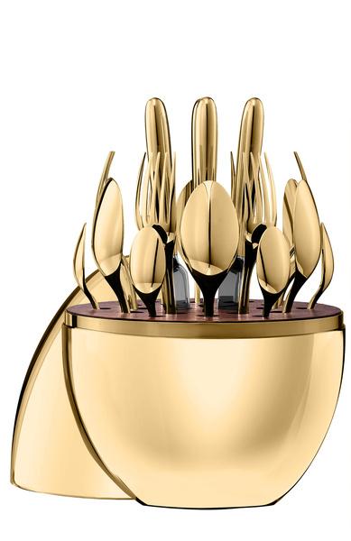 Парижский шик: объекты для свадебной сервировки от Lalique и Christofle | галерея [1] фото [3]
