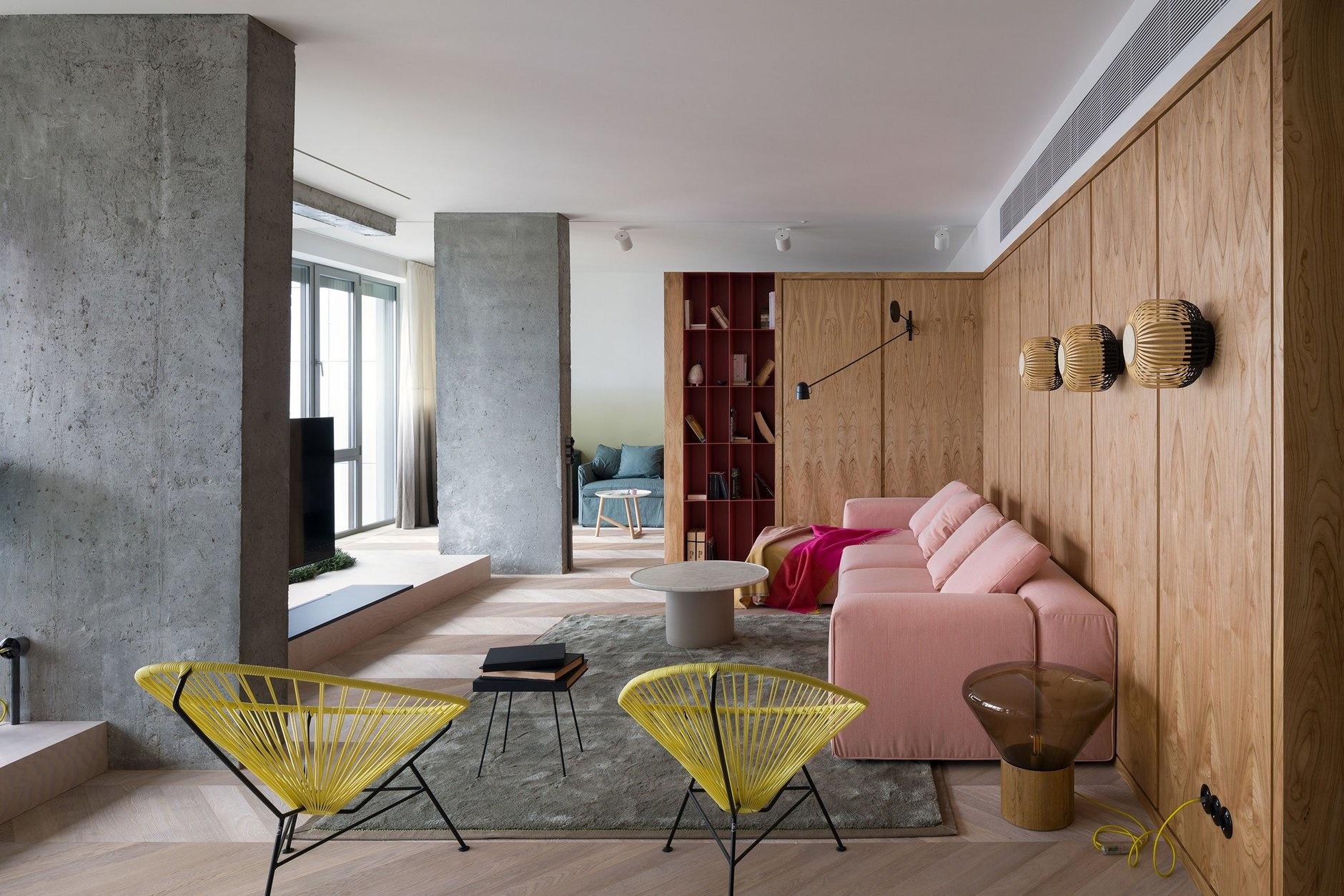 Бетон в интерьере: 10 стильных проектов (галерея 0, фото 6)