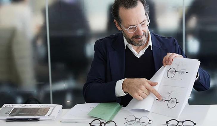 Константин Грчик разработал дизайн очков для JINS (фото 0)