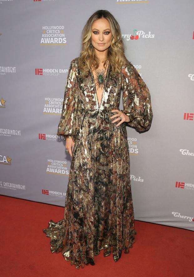 В центре внимания: роскошная Оливия Уайлд на премии Ассоциации голливудских критиков (фото 3)