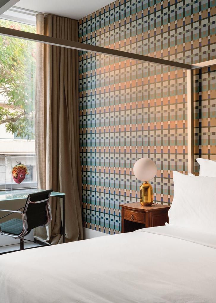 Яркий отель Casa Fortunato в Лиссабоне (фото 8)
