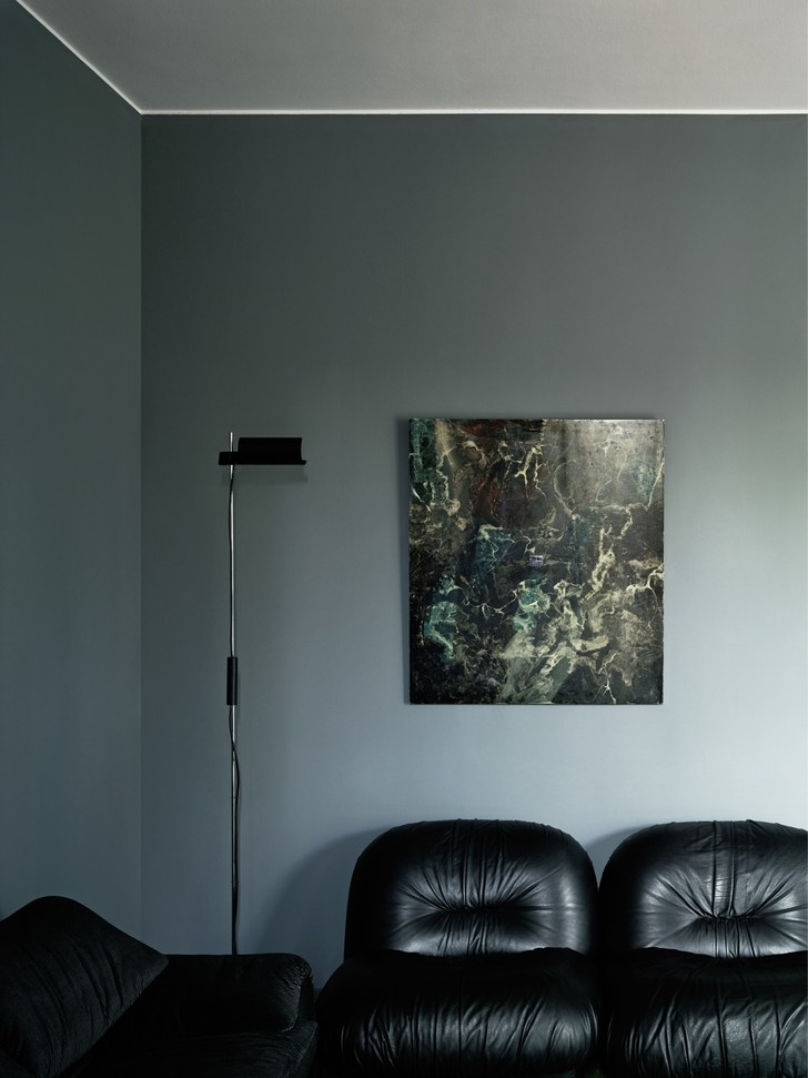 Миланская квартира в зеленых тонах (фото 14)