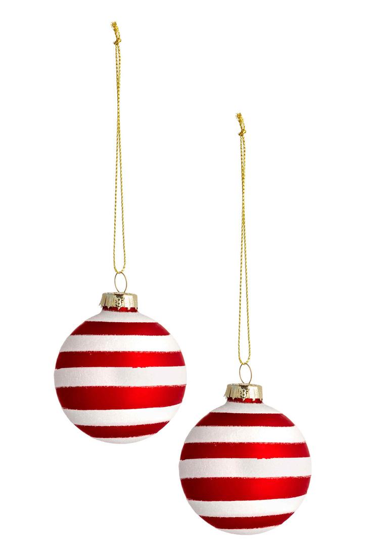 Елочные шары, H&M Home, магазины H&M Home, 449 руб.