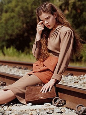 Хэйли Стейнфилд в рекламе Miu Miu осень 2011