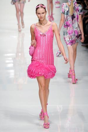Показ Blugirl коллекции сезона Весна-лето 2011 года prêt-à-porter - www.elle.ru - Подиум - фото 185987