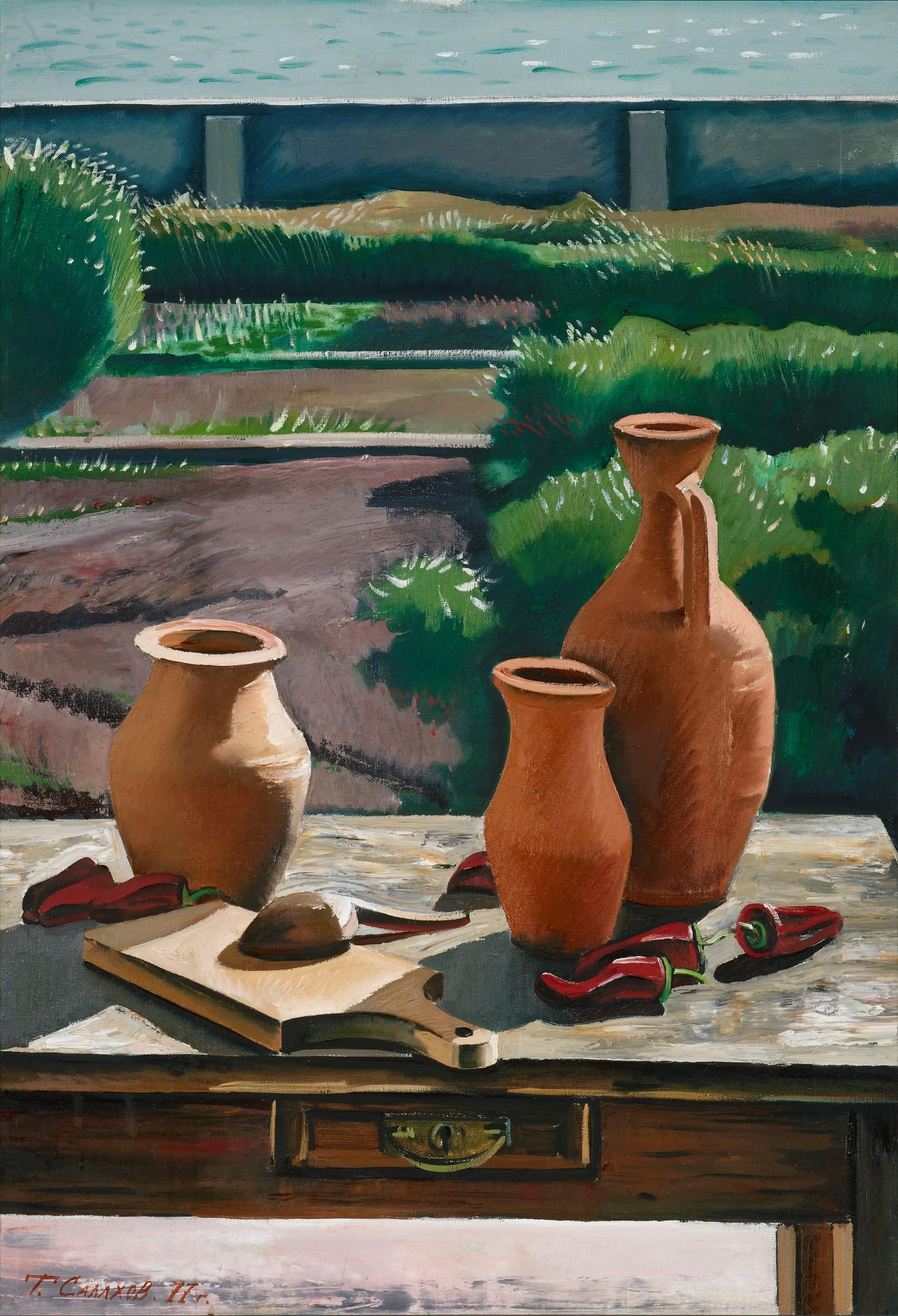 Открывается выставка Таира Салахова | галерея [1] фото [5]